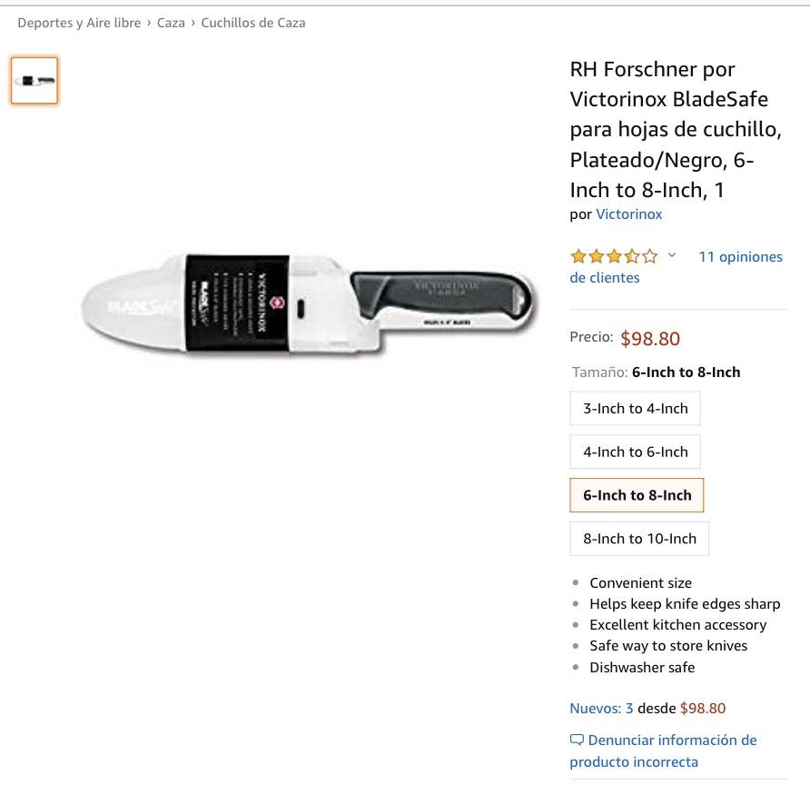 Amazon: funda Victorinox