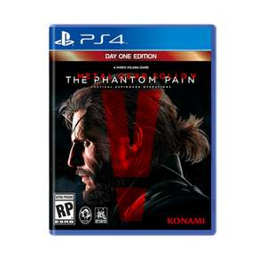 Gamers: Metal Gear Solid V en $449 PS4 Y XBOX ONE