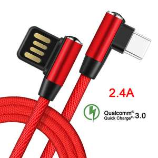 Aliexpress: Cable para celular (microusb, tipo c, for iphone) 1 metro