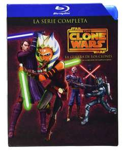 Amazon Mx: Star Wars: The Clone Wars temporadas 1-5 [Blu-Ray] a $679.60