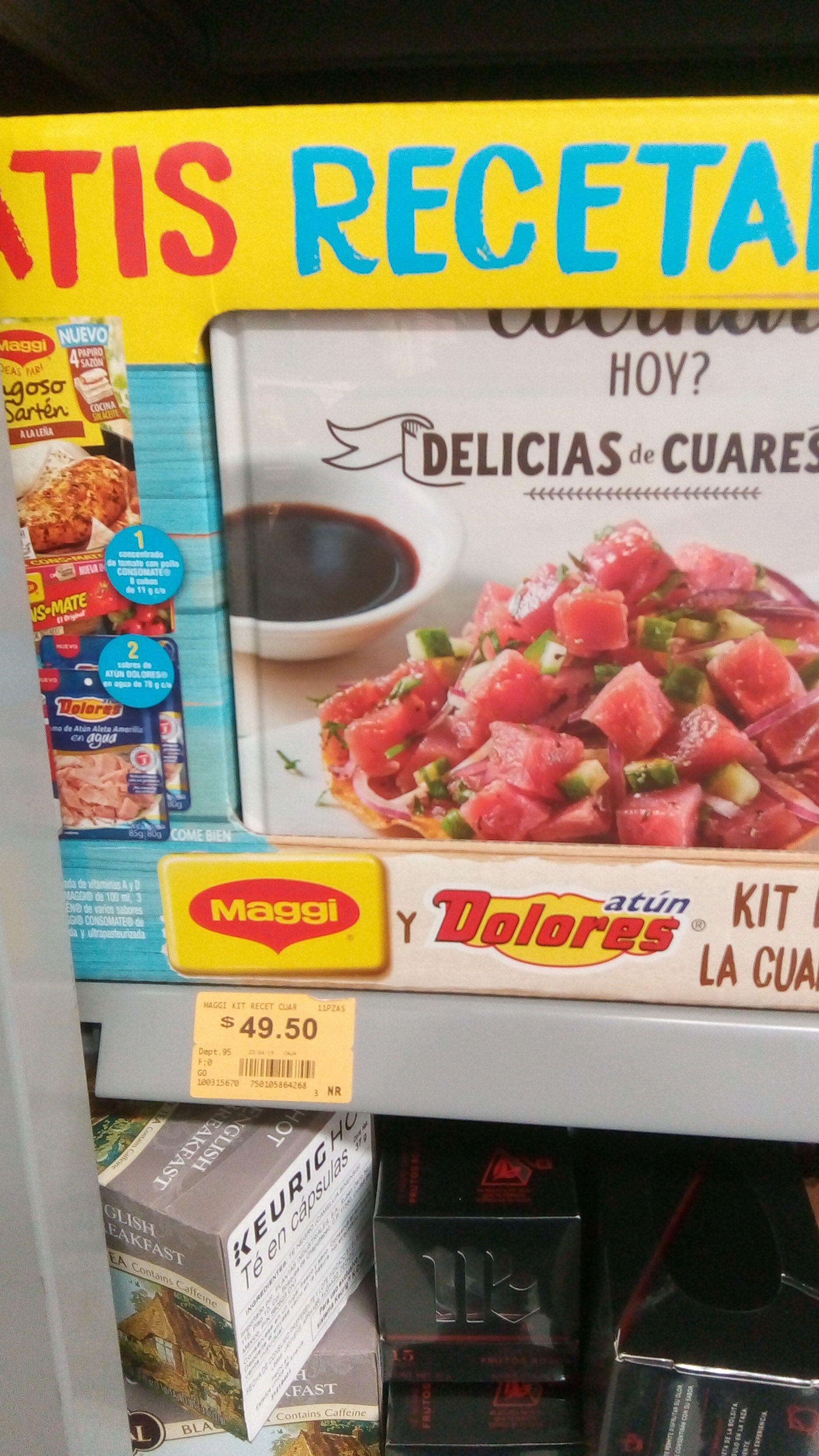 Superama Mérida: Kit cuaresma