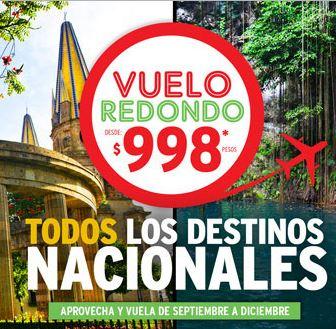 Vivaaerobus: vuelos redondos desde $999 de septiembre a diciembre