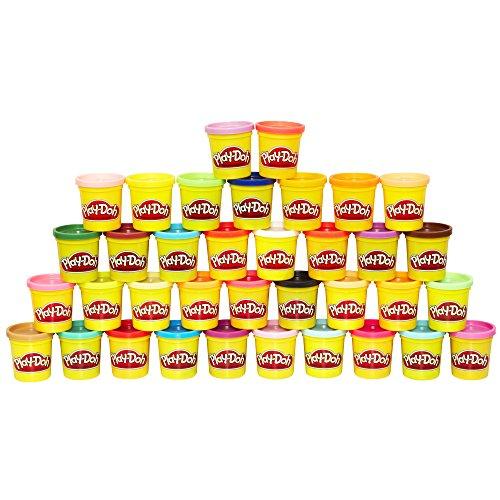 Amazon México: Play Doh Mega Pack (36 latas) a $209.20 y más juegos Hasbro en oferta