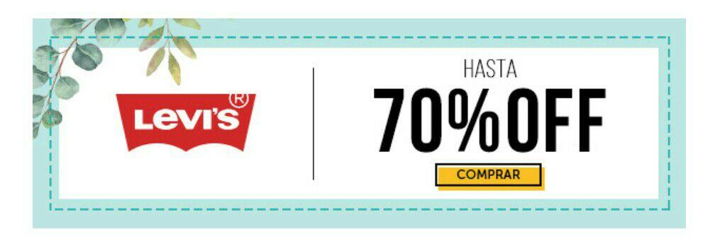 Osom: Levi's con hasta el 70% de descuento.