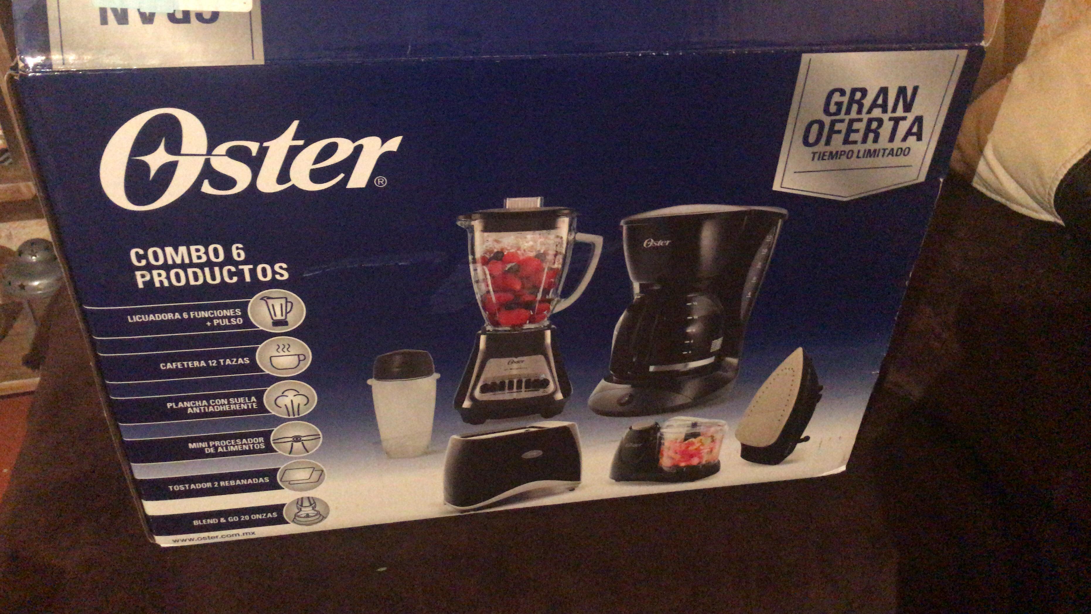 Walmart: Paquete 6 electrodomésticos OSTER