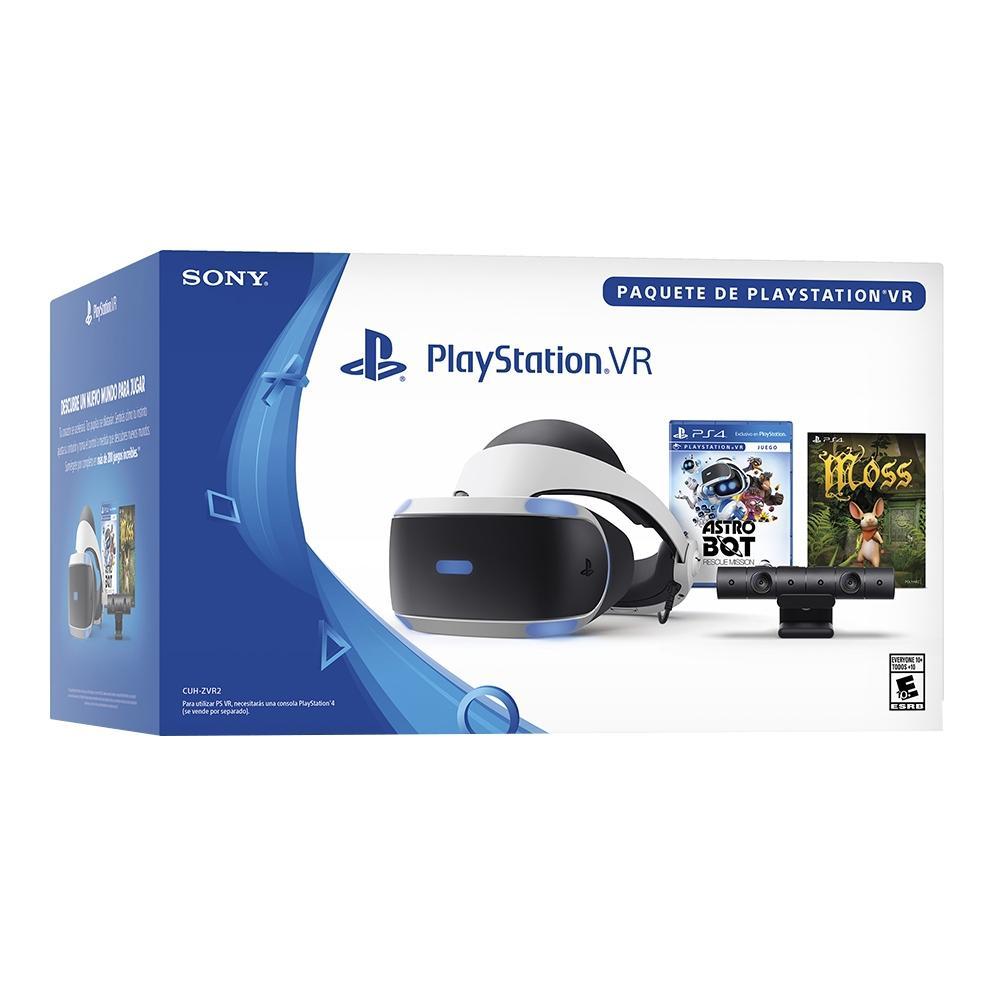 Walmart en línea: PlayStation VR más Videojuego Astro Bot y Cupón