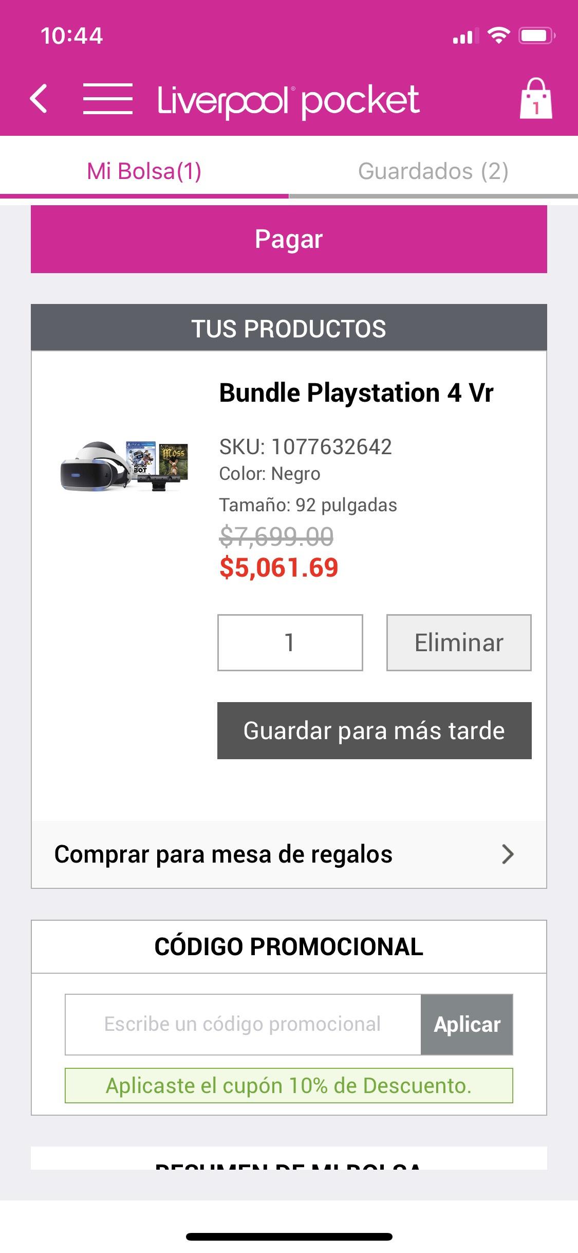 Liverpool: Bundle Playstation 4 VR
