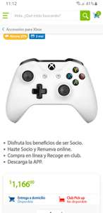 Sam's Club: Control Xbox one blanco