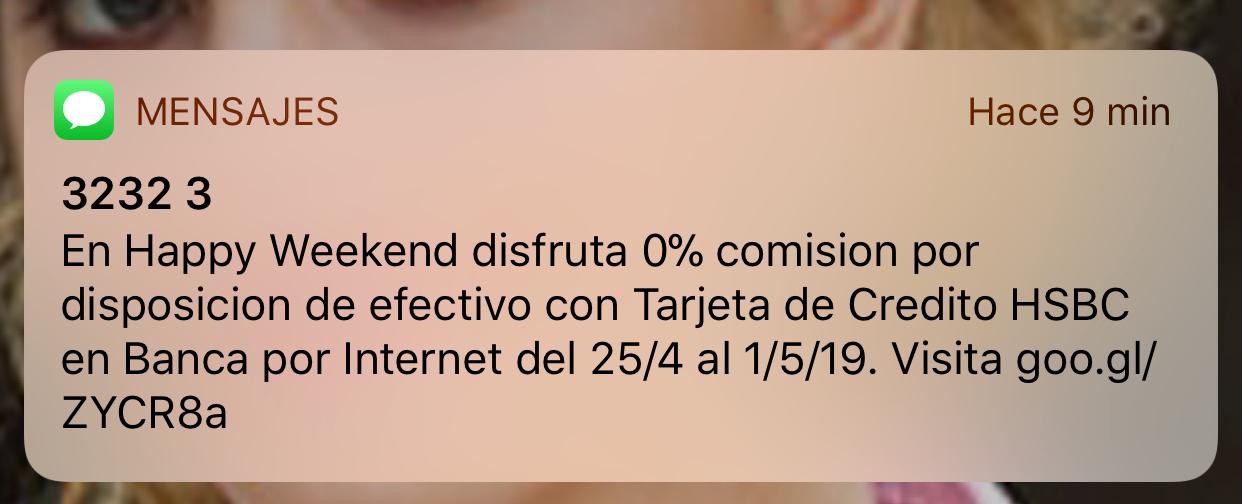 HSBC: 0% Disposición de efectivo Tarj de crédito Hsbc.