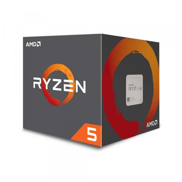 MiPc - PROCESADOR AMD RYZEN 5 2600 6CORE WRAITH STEALTH COOLER 3.9GHz 65W AM4