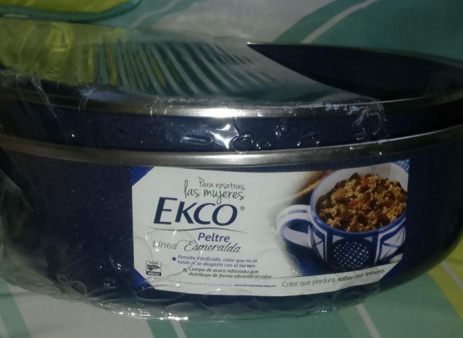 Walmart Juriquilla, Querétaro!! Arrocera de peltre marca Ecko $80.01