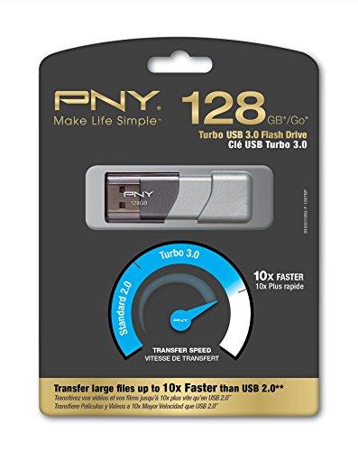 Amazon MX: PNY Turbo 128GB USB 3.0 Flash Drive