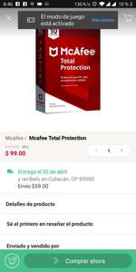 Linio: Mcafee Total Protection