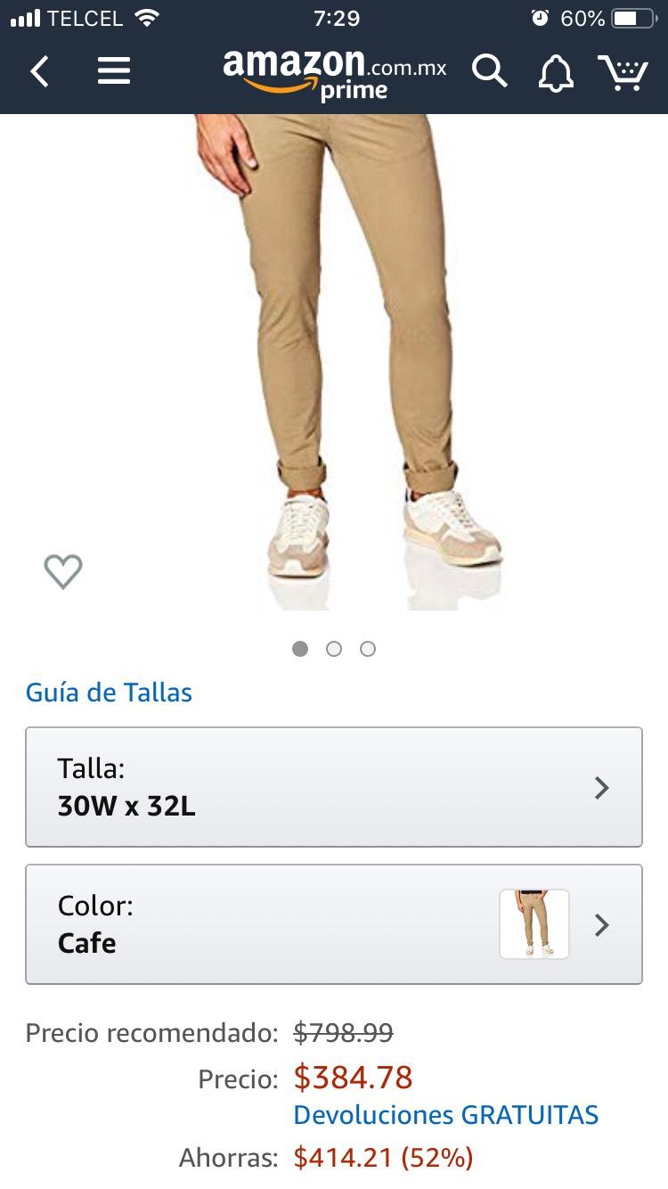 Amazon: Levi´s 512 Slim Taper, Cafe, 30x32