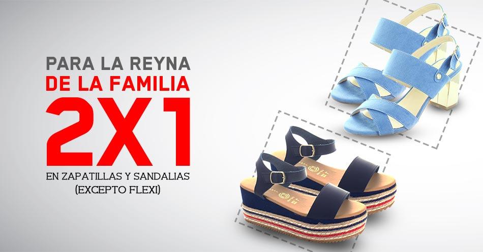 Redberry: 2X1 en sandalias y zapatillas para dama