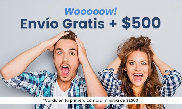 Privalia: $500 de Descuento más ENVÍO GRATIS (Mínimo $1,200)