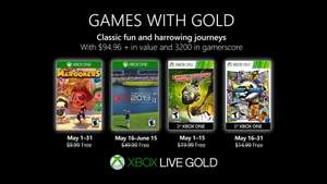 Xbox Games with Gold Mayo