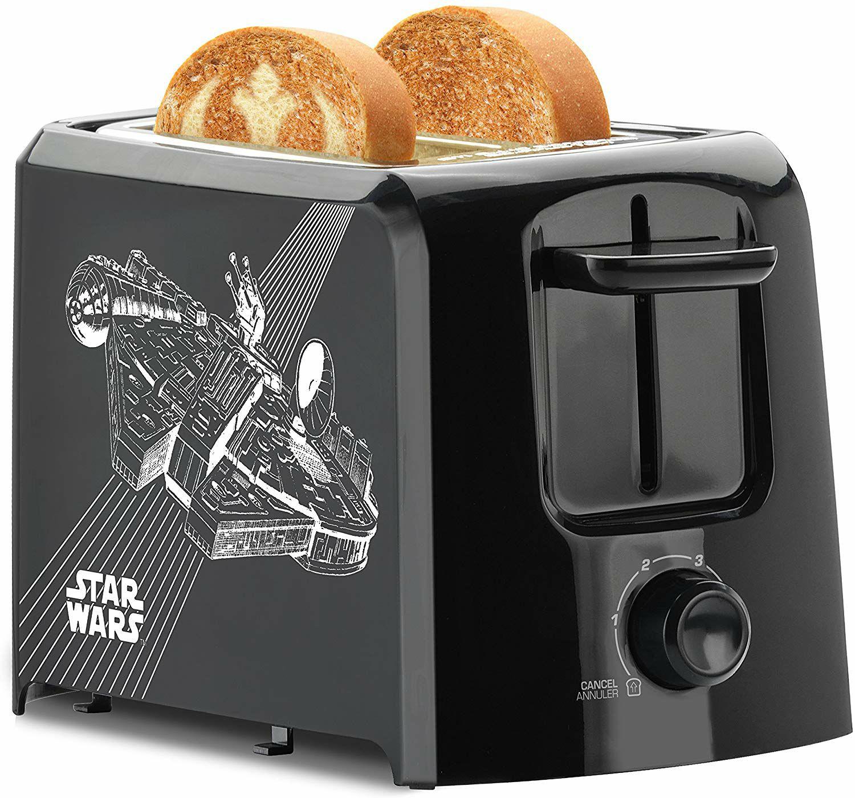 Amazon MX: Star Wars, tostadora de 2 rebanadas La Guerra de las Galaxias, Negro, olla de cocimiento y cafetera (Vendido por Amazon USA)