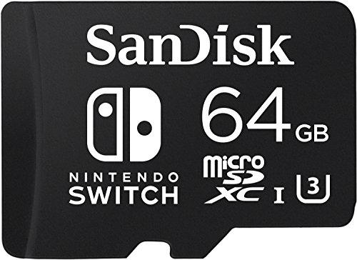 Amazon MX: SanDisk 64GB microSDXC UHS-I card para Nintendo Switch  SDSQXAT-064G-GN6ZA
