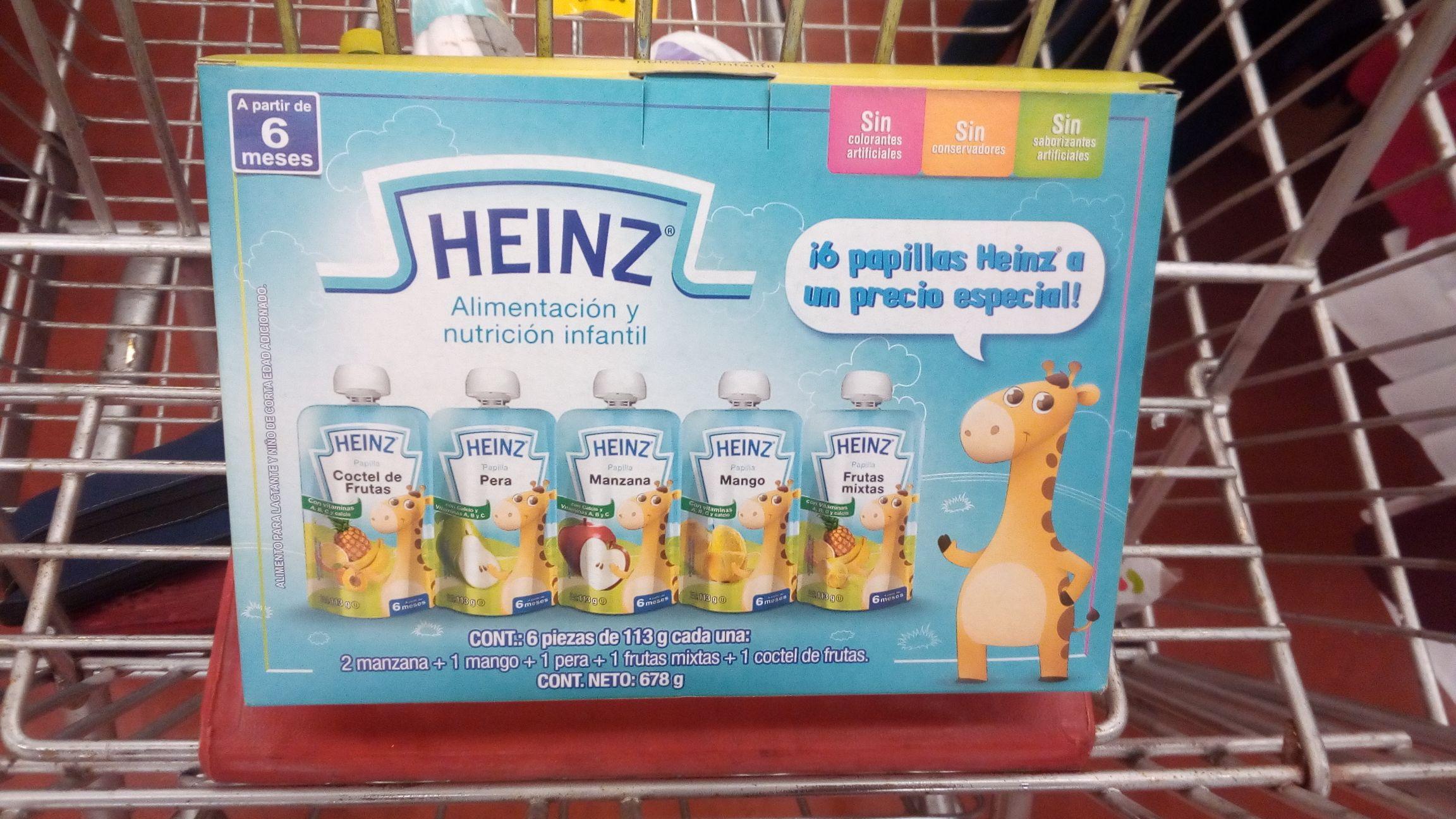 Soriana Hiper Av.128: Pack Papillas Heinz