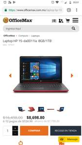 OfficeMax Laptop HP