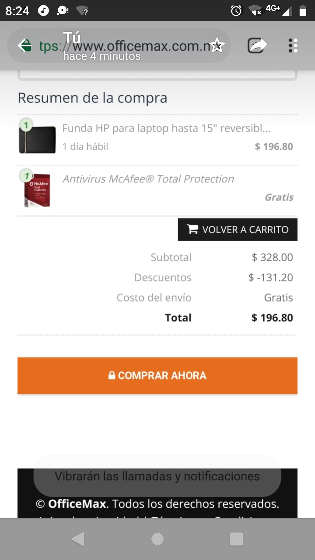 Office Max: Antivirus de regalo al comprar una funda