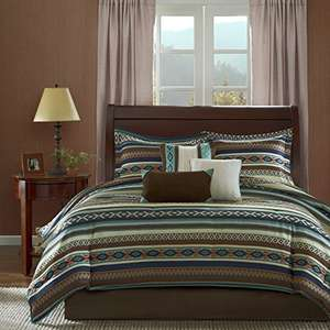 Amazon: Madison Park MP10-526 Comforter Set, Multicolor- KING SIZE