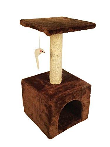 Amazon: Mueble Rascador para Gato con Juguete 60 cm