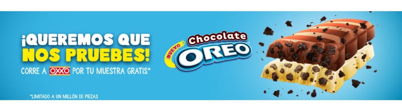 Oxxo: GRATIS chocolate Oreo