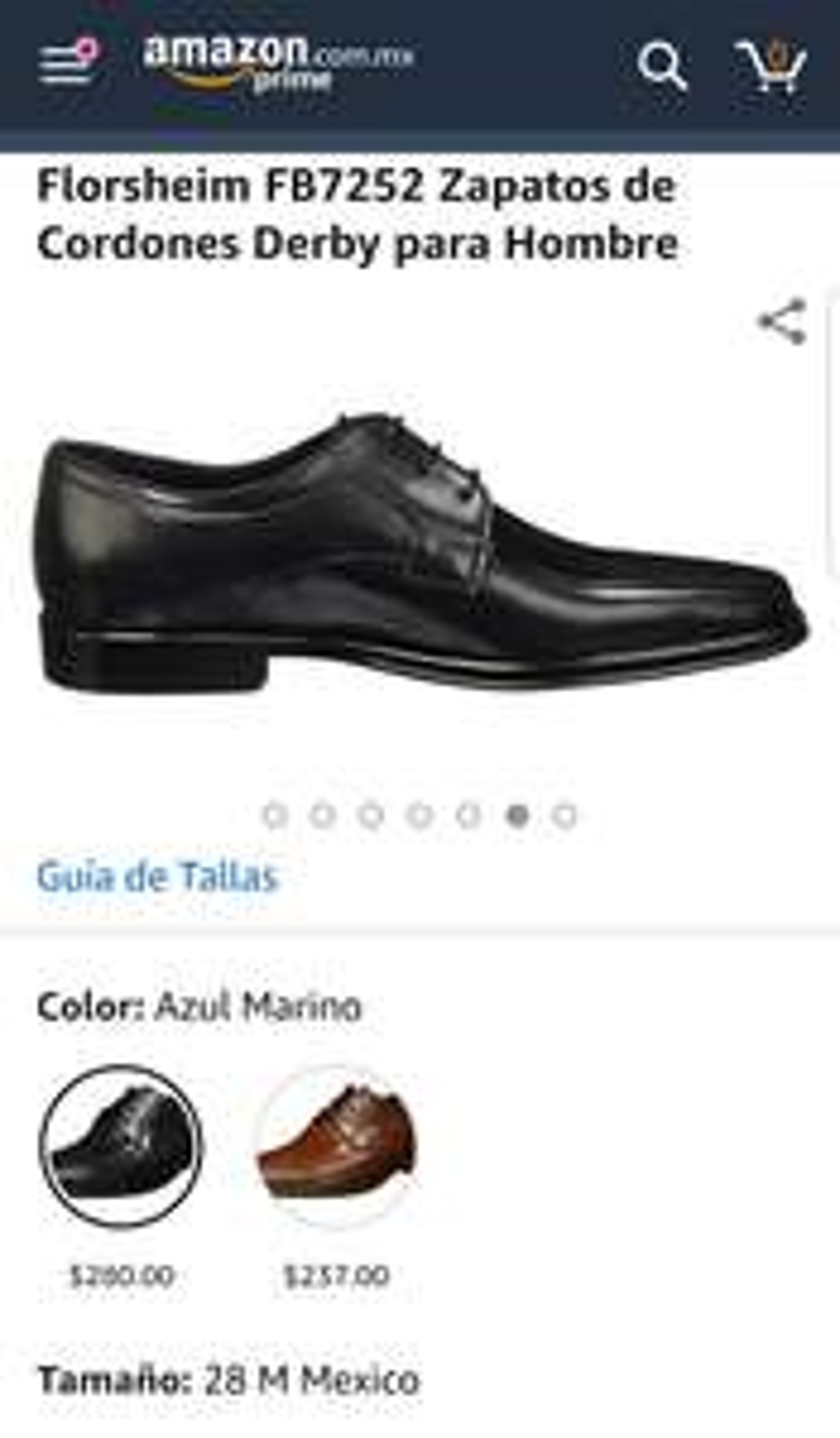 Amazon: Zapato de vestir Florsheim (28M)