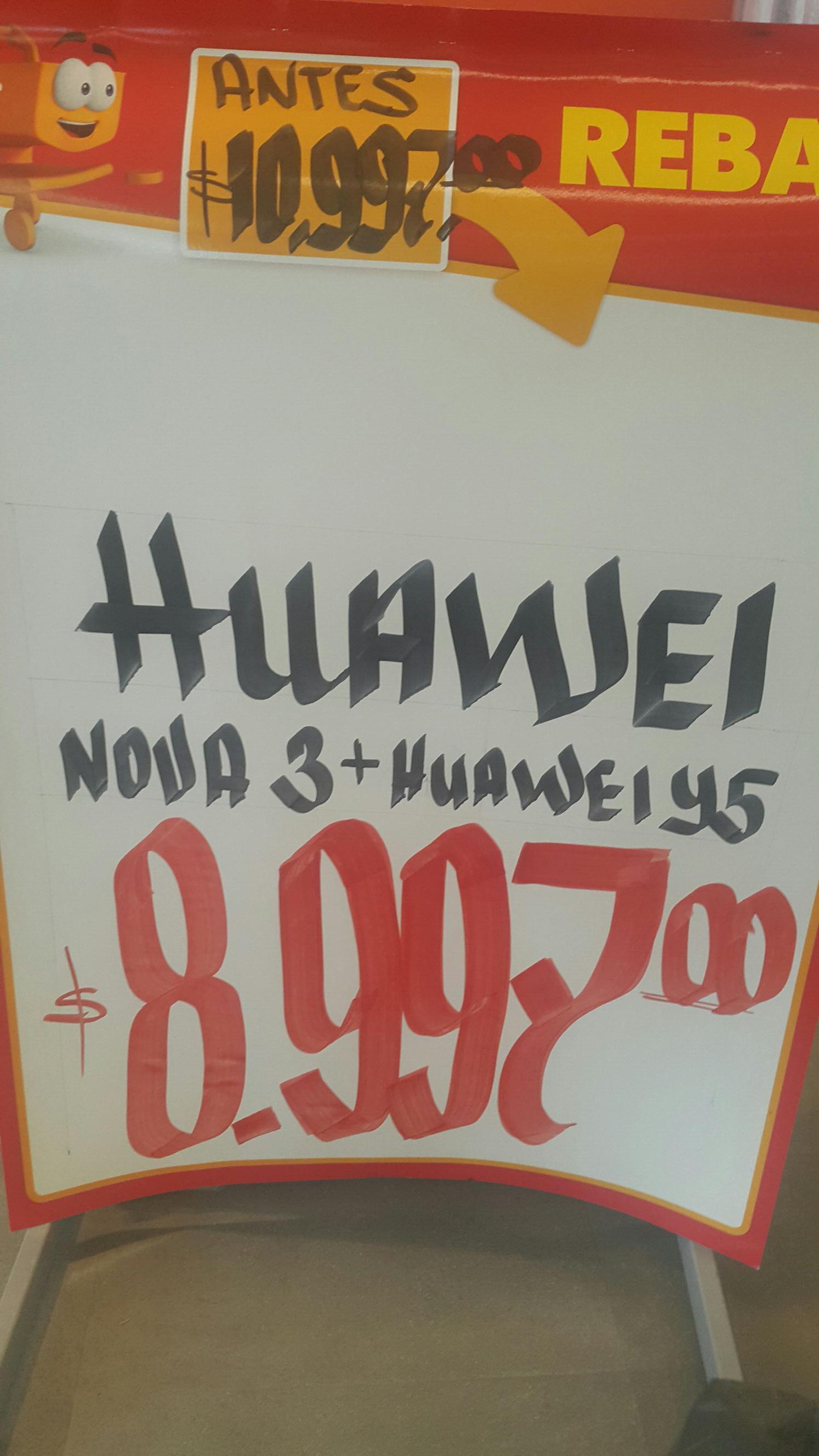 Walmart: Huawei Nova 3 + Y5