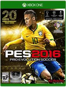 Amazon México: Pro Evolution Soccer 2016 para Xbox 360/PS3 a $434 y para Xbox One a $584