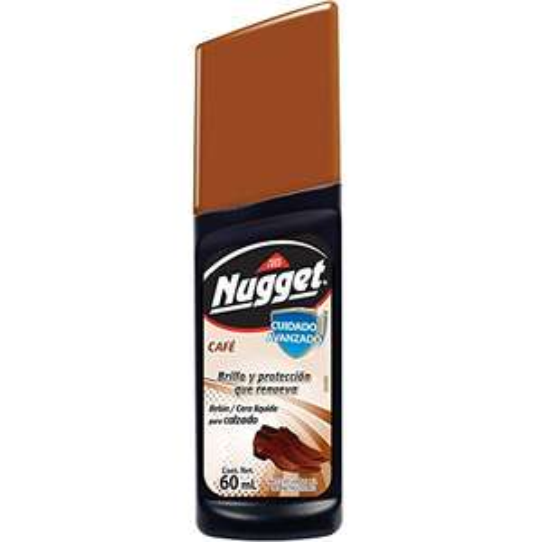 Amazon Nugget Cera Líquida, 60ml, color Café   12 count