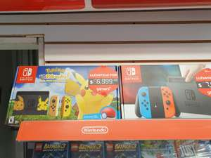 Gamers: Nintendo Switch Let's Go Pikachu