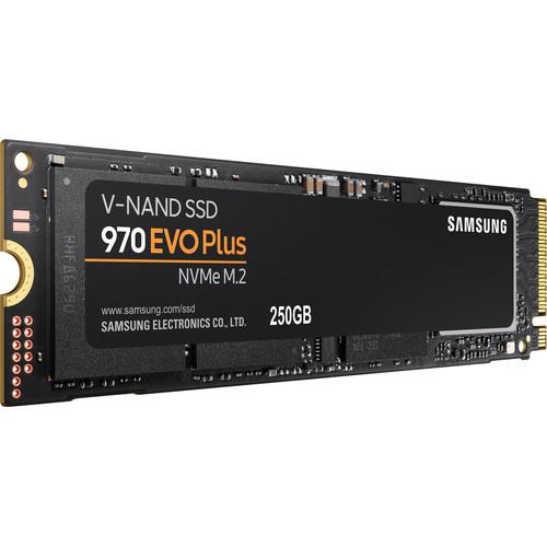 bhphotovideo Samsung 250GB 970 EVO Plus NVMe M.2 Internal SSD