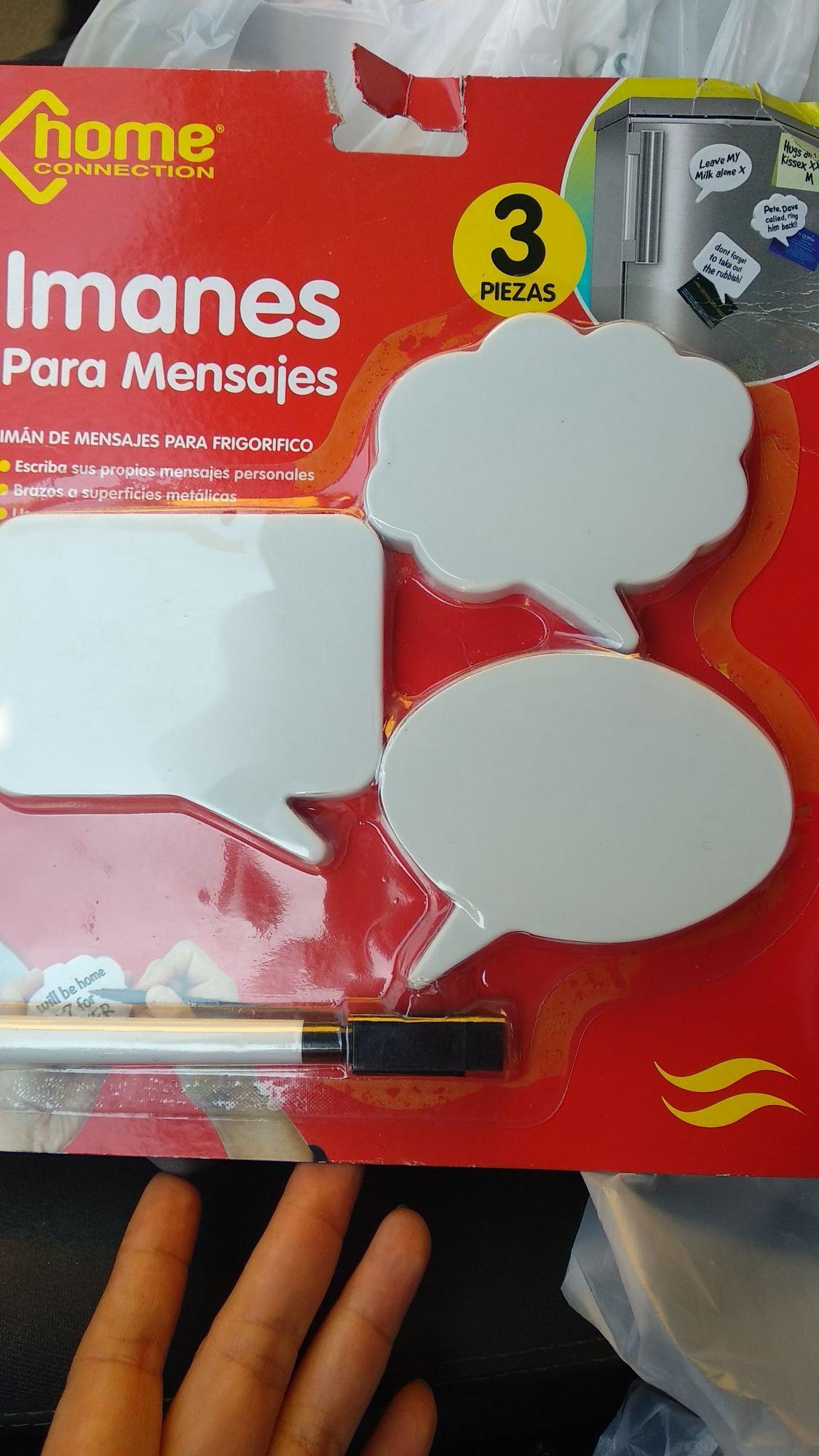 Chedraui Jalpa de Méndez: Paquete de Imanes para recados