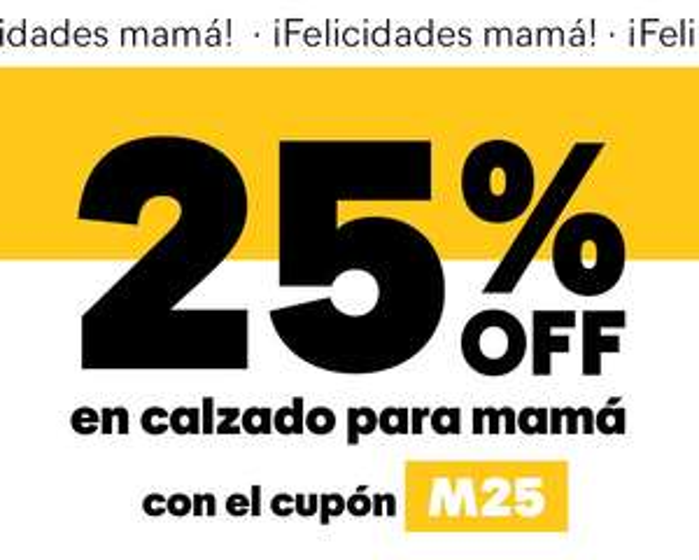 Caterpillar: 25% en calzado para mamá CAT