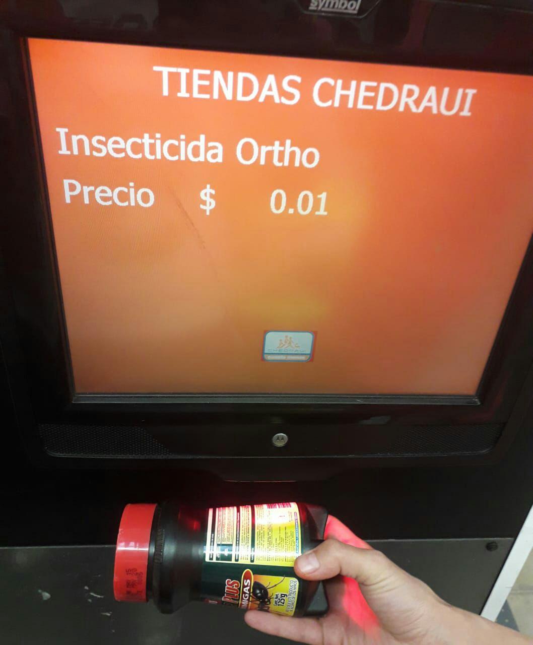 Chedraui: Veneno Mata hormigas liquidacion