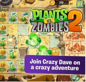 iTunes: Plants vs Zombies 2 gratis disponible en México (y más juegos gratis)