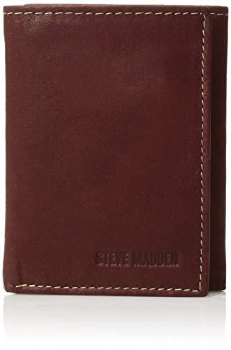 Amazon: Billetera de piel Steven Madden (Aplica Prime)