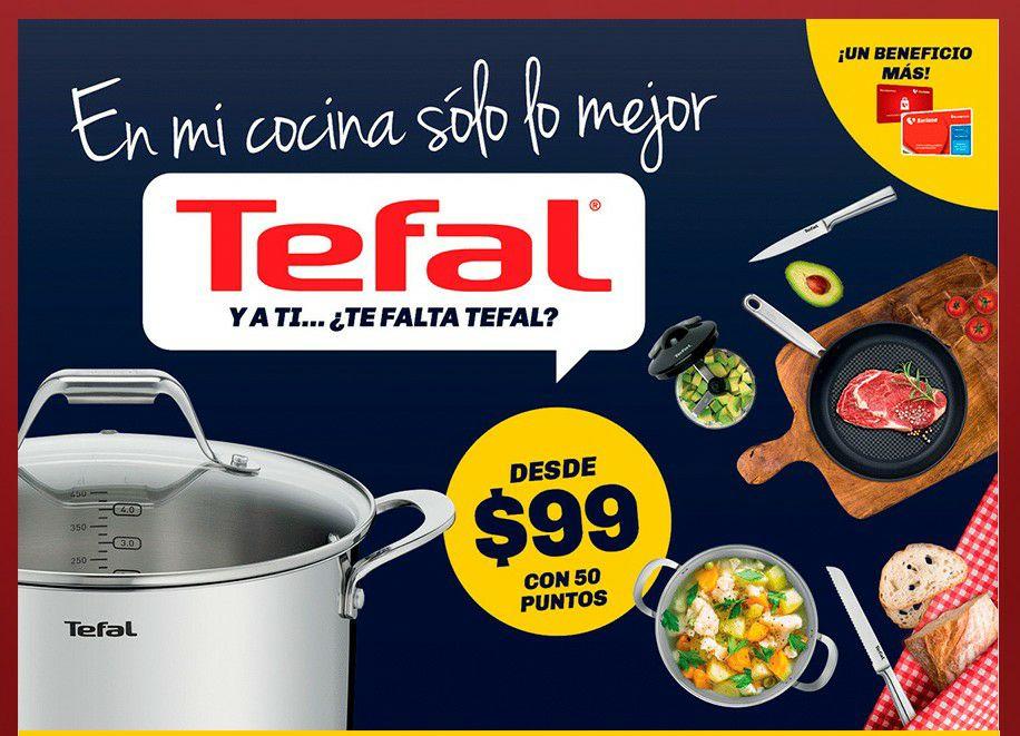 Soriana: Nuevo Programa de Lealtad, Productos Tefal y más.