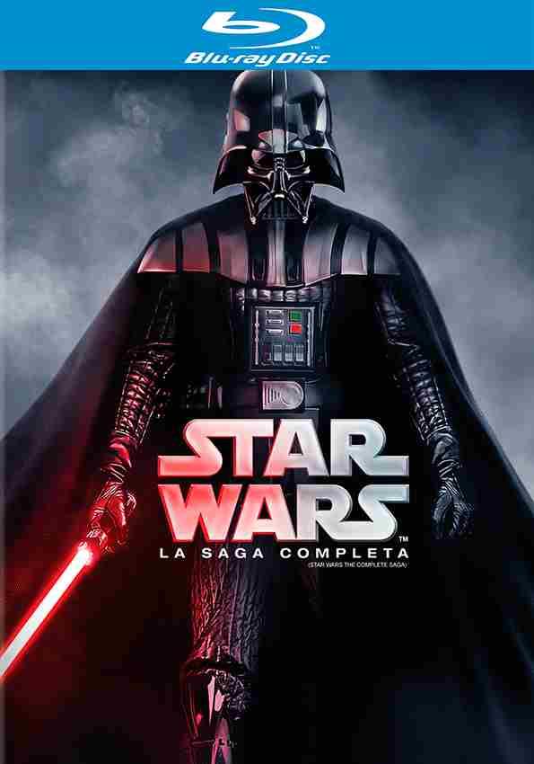 B-Store: Películas en Blu Ray a 50% (Incluye Marvel) Ej: Star Wars La Saga a $709