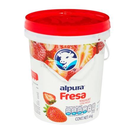 Sam's Club: 8 kilos de yogurt batido alpura por $74, fresa ó piña coco, casi a $9.3 por kilo