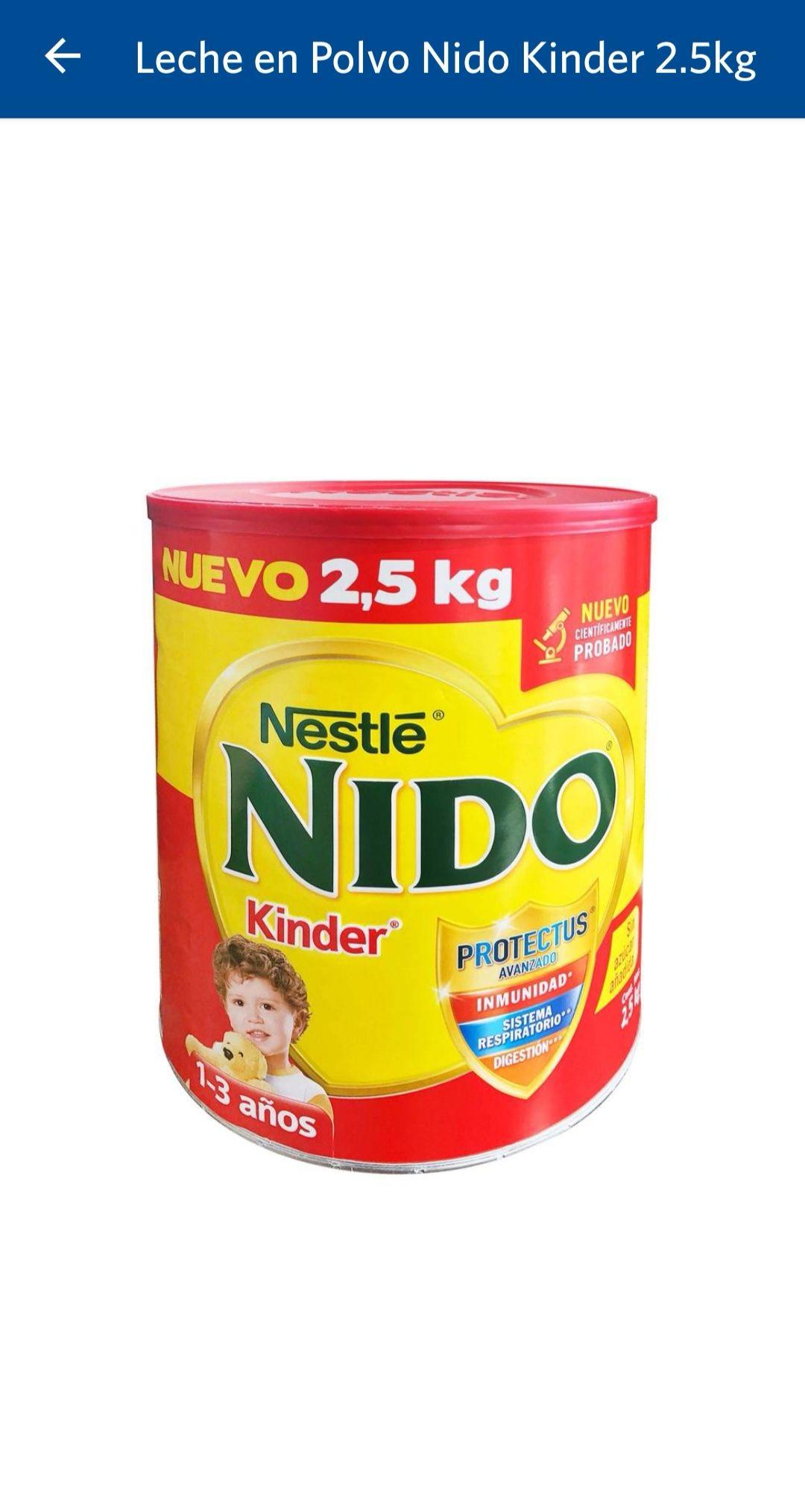 Sam's club: Nido Kinder 2.5 Kg