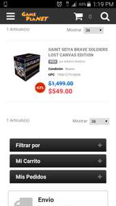 Game Planet: PS3 Saint Seiya Brave Soldiers Lost Canvas Edition. Video juego + serie completa Lost Canvas