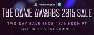 "PSN Store: Venta Especial ""The Game Awards"""