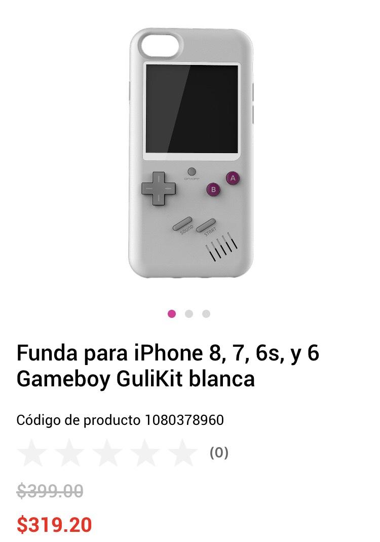 Liverpool en línea: Funda gameboy para iPhone