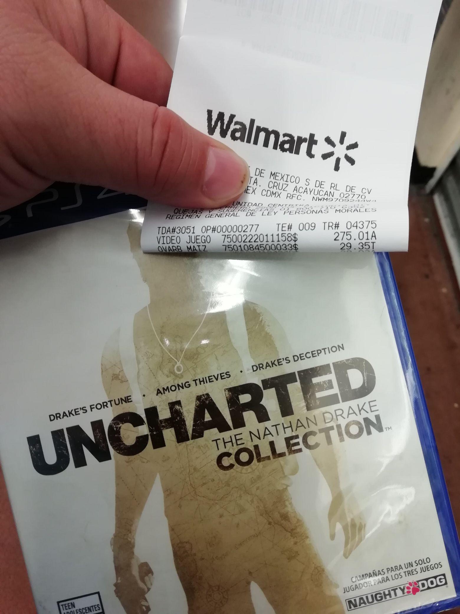 Walmart: Uncharted Collection