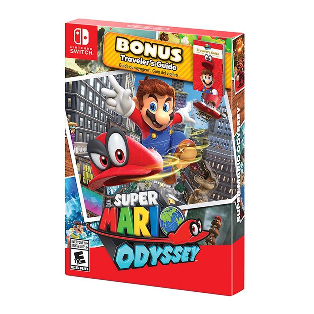 Walmart: Súper Mario Odyssey Starter Edition Nintendo Switch