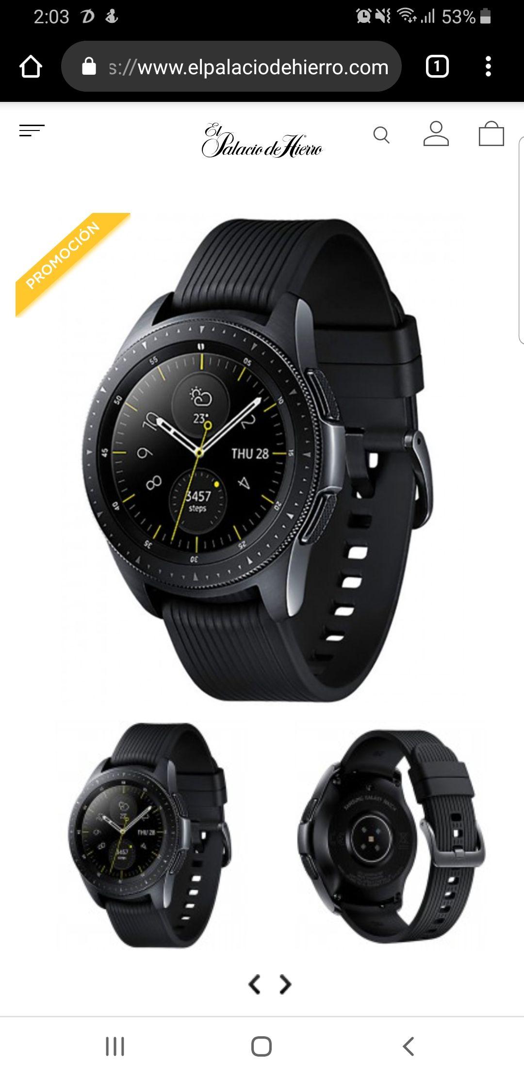 elpalaciodehierro: Smartwatch Galaxy S4- a 18 msi solo en tienda!